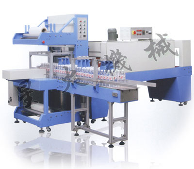 PE膜全自动整列收缩包装机